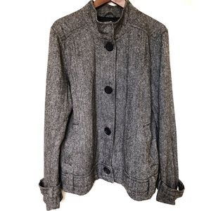 Old Navy Wool Blend Button Front Jacket Size XXL